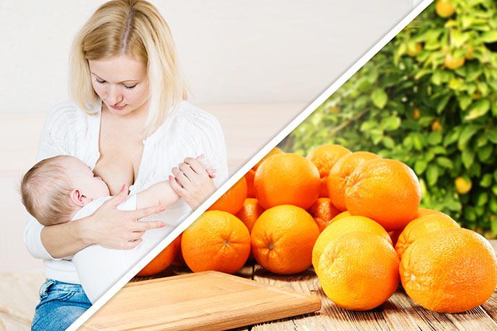 Oranges While Breastfeeding