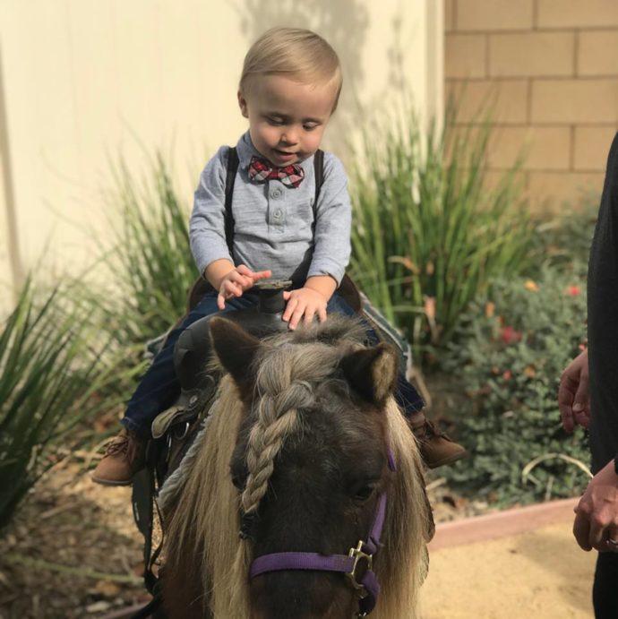 Erste Geburtstagsparty Ideen - Pony Party