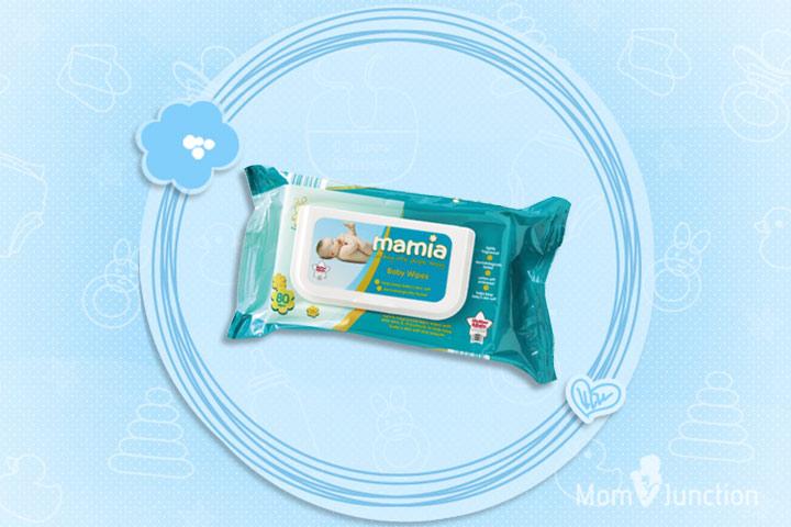 Mamia Sensitive Baby Wipes
