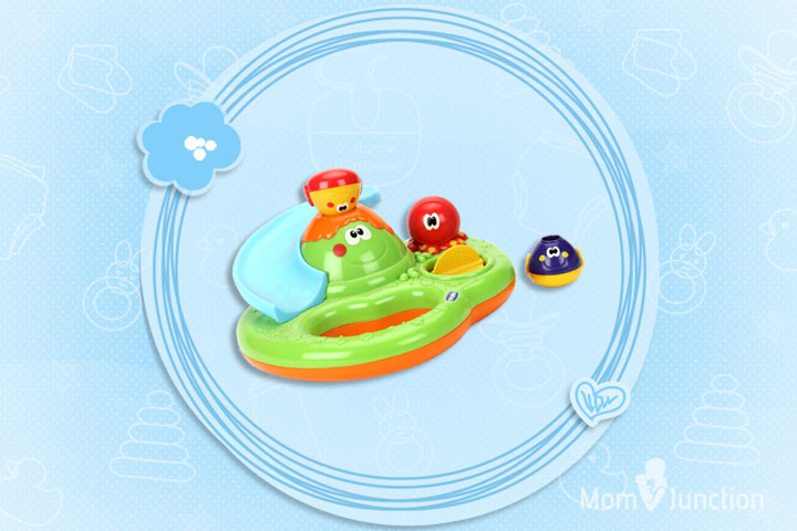Best Toys For Babies - Chicco Bubble Island Bath Toy