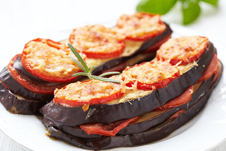 Eggplant Baby Food Recipes - Eggplant And Parmesan Bake