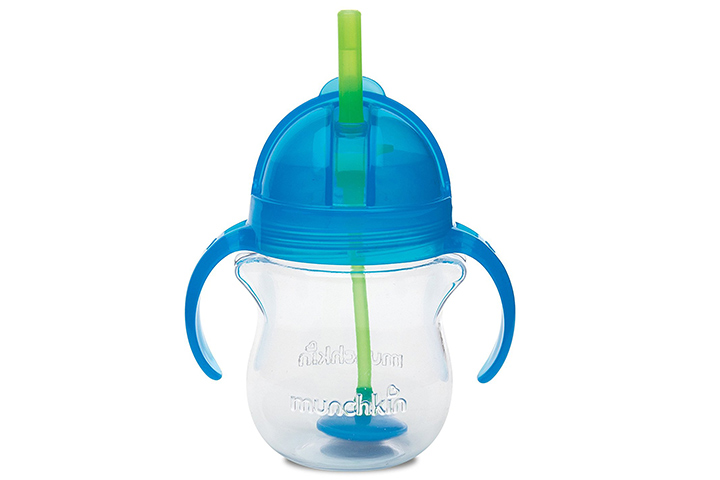 Munchkin Click Lock Weighted Flexi Straw Trainer Sippy Cup