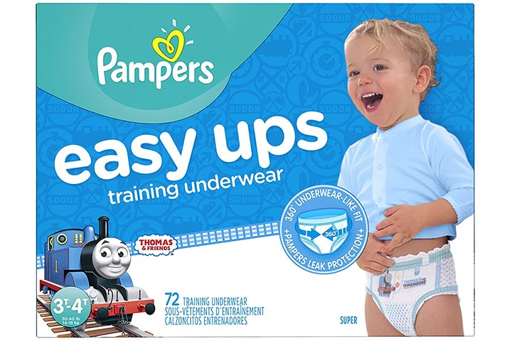 Pampers Easy Ups Training Pants Disposable Diapers Boy