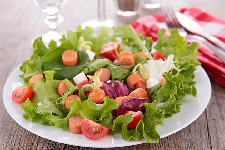 Chorizo Sausage Salad