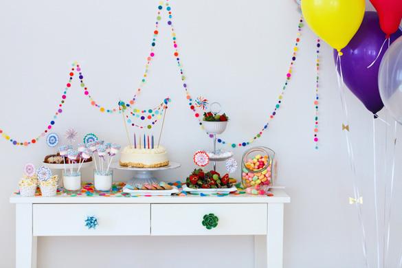 Schokoriegel-Geburtstagsfeier
