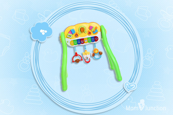 Best Toys For Babies - MeeMee Battery Operated 3 In 1 Fun Activity Gym