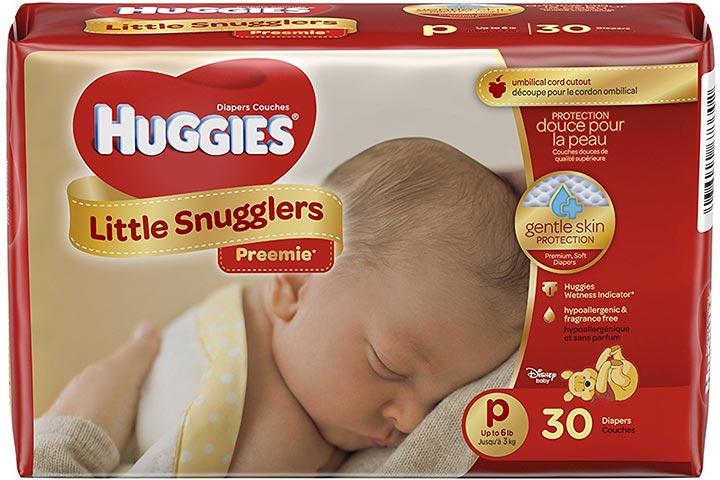Huggies Little Snugglers Preemie Baby Diapers