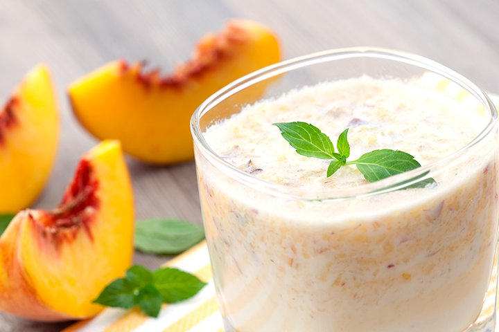 Paneer Recipes For Babies - Peach, Pear And Paneer Puree