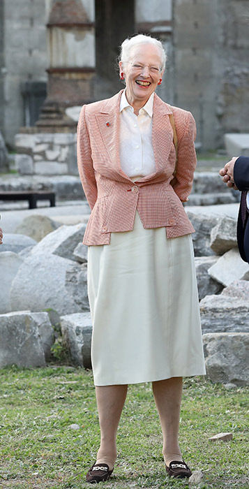 Queen Margrethes birthday 16 april