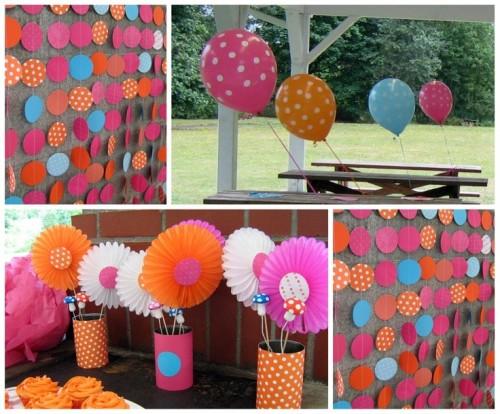 Erste Ideen für eine Geburtstagsfeier: Polkadot-Geburtstagsfeier