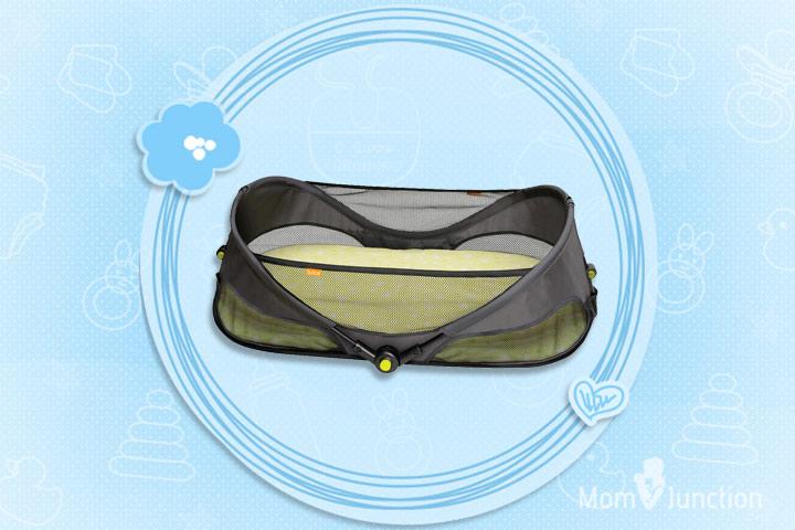 Yapaa Baby Brica Fold N Go Travel Bassinet