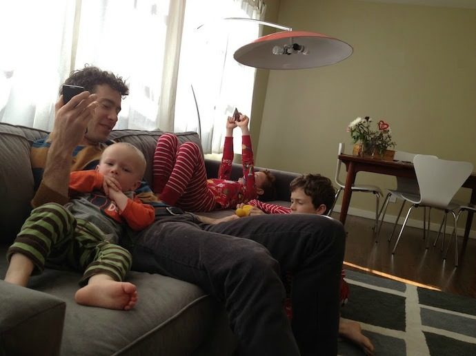 Can a family sick day ever be fun?