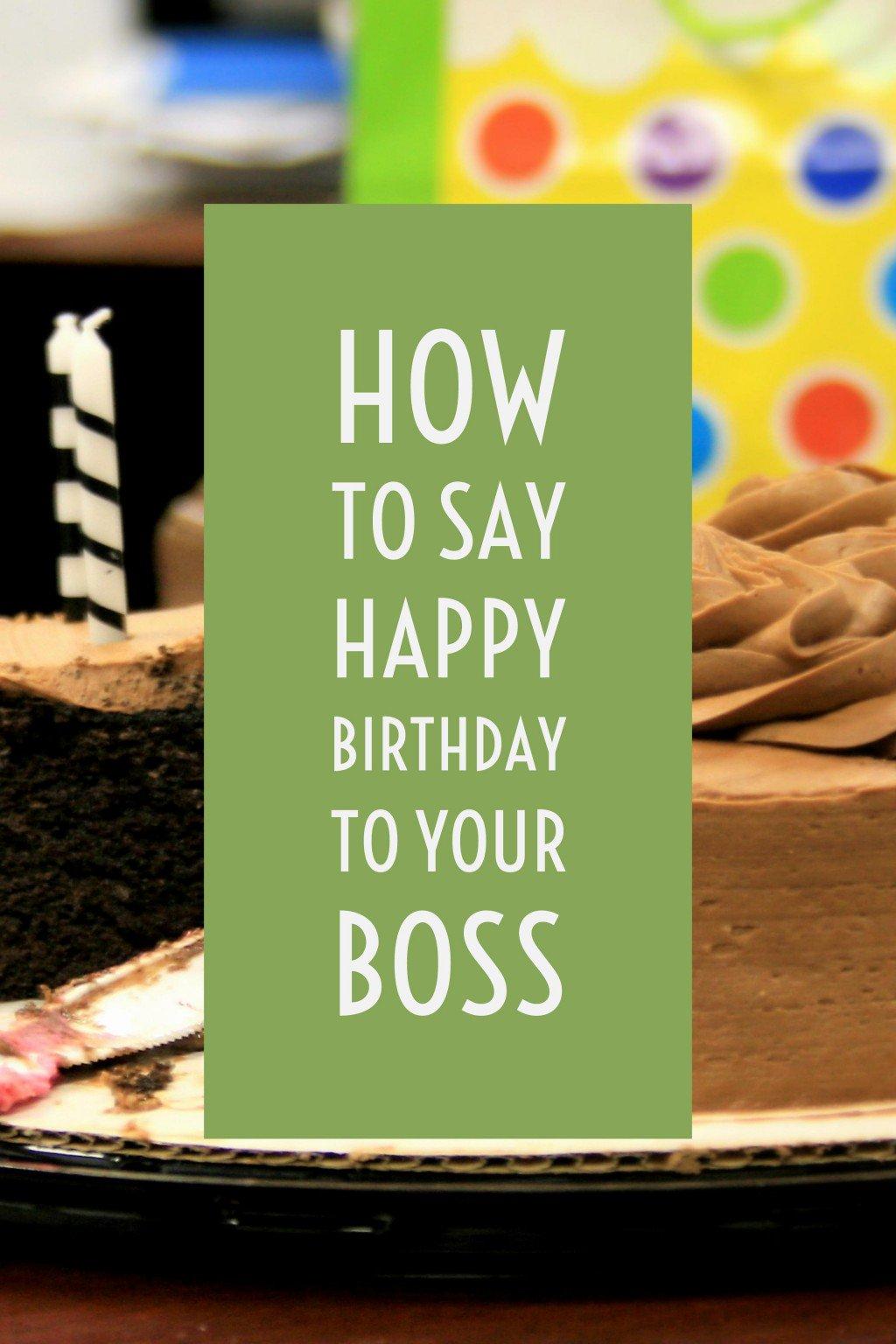 Geburtstagswunsche zum chef