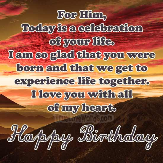 Herzlichen Glückwunsch zum Geburtstag, ich liebe dich von ganzem Herzen
